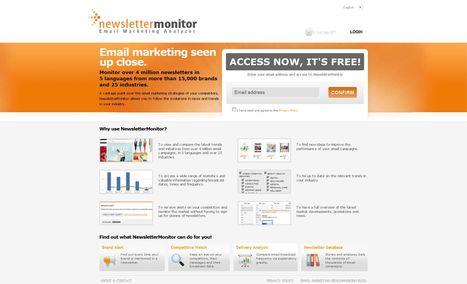 Newsletter Monitor | Email Marketing Analyzer | Newspotting | Scoop.it
