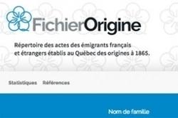 Québec : un nouveau site pour le fichier Origine | Rhit Genealogie | Scoop.it