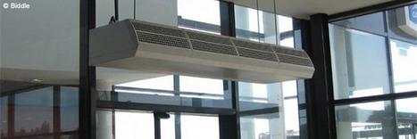 Le rideau d'air pour limiter les déperditions de chaleur – ETI Construction   Conseil construction de maison   Scoop.it