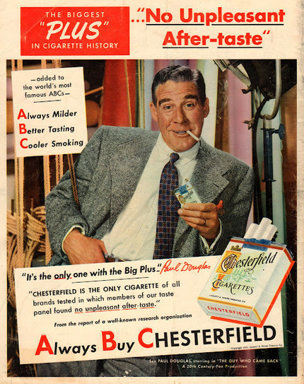 vintage everyday: Cigarette Ads in 1950's | 1950's | Scoop.it