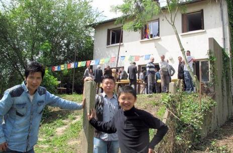 Andrésy : les réfugiés Tibétains ont leur maison | Tibet and Tibetans | Scoop.it