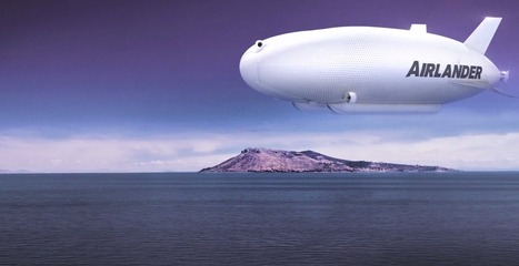 Iron Maiden singer will fly around the world in a giant hybrid airship | Sustain Our Earth | Scoop.it