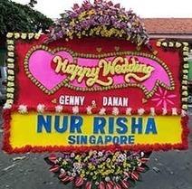 Bunga Papan Pernikahan Hotel Gran Mahakam | Ucapan Bunga Papan | Scoop.it