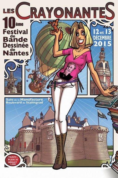 Crayonantes : le Festival de BD et d'Illustration de Nantes revient les 12 et 13 décembre - France 3 Pays de la Loire | littérature jeunesse | Scoop.it