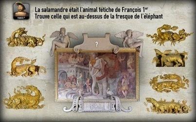 Au château de Fontainebleau, un « jeu sérieux » au service de l'histoire | Remue-méninges FLE | Scoop.it