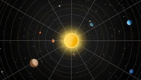 Sigue la pista a los planetas del Sistema Solar con este gráfico animado | Biblioteca Escolar | Scoop.it