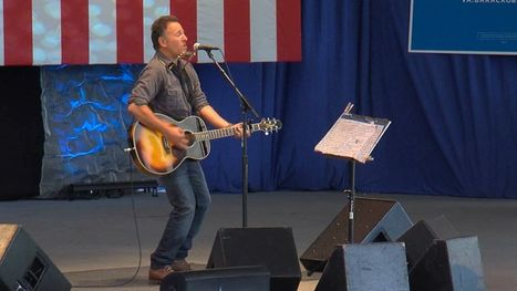Springsteen Plays Free Concert & Rallies Support for Obama - ABC | Bruce Springsteen | Scoop.it