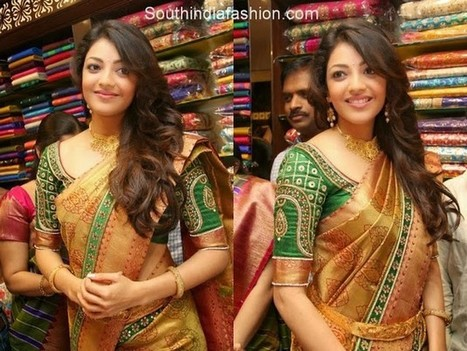 South Indian Sarees Blouse Designs | FemalesPk.Com | Pakistani Girls | Scoop.it
