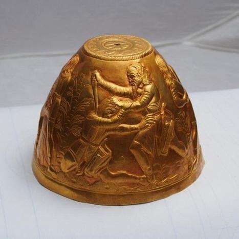 Les Découvertes Archéologiques: Deux bongs en or de la culture Scythe découverts en Russie | Formule | Scoop.it