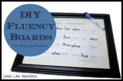 DIY Fluency Boards   Fluency   Scoop.it