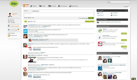 TIBCO's tibbr May Be the Enterprise 2.0 Solution You've Been Waiting For   Social Business Trends   Scoop.it