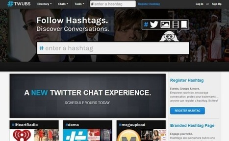 Twubs: crea salas de chat para Twitter en dos pasos | Aprendiendoaenseñar | Scoop.it