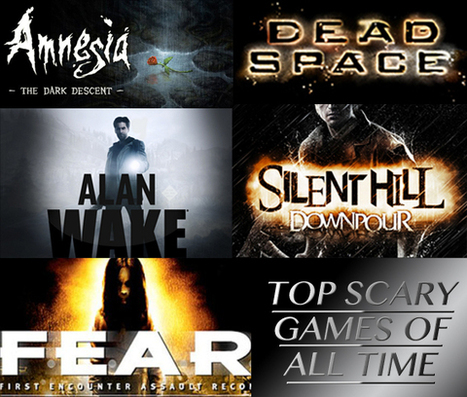 Top Scary Games Of All Time - Webmuch | Game Mod Culture | Scoop.it