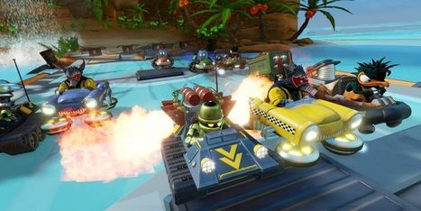 Obliteracers out now on PS4! It's like Mario Kart had a baby with Smash Brothers! | Video Games | Scoop.it