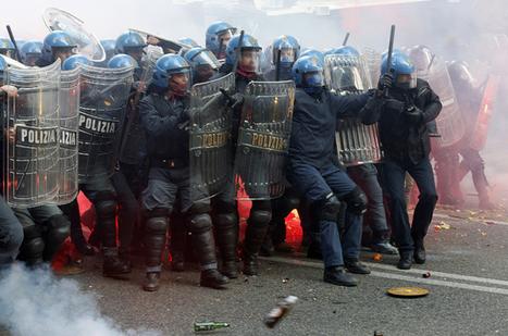 Anti-austerity protest in Italy turns violent | Eurozone | Scoop.it