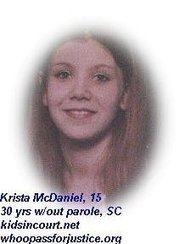 Krista Lynn McDaniel Story | NO compassion, NO mercy. | Scoop.it