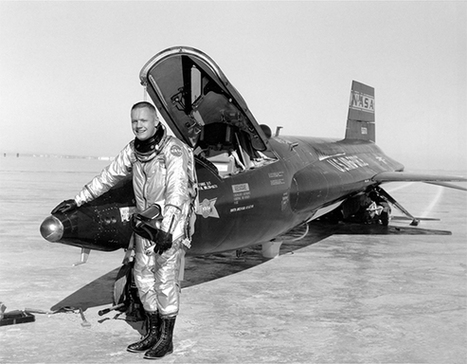 NASA HISTORY: Neil Armstrong Sets Record Distance, Duration X-15 Flight 54 Years Ago | | 1962 - the year | Scoop.it