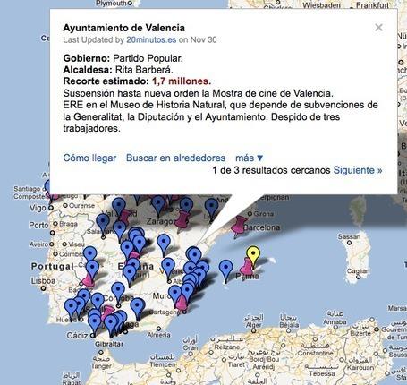 Recortes presupuestarios en España | Los mapas del #15M | Scoop.it