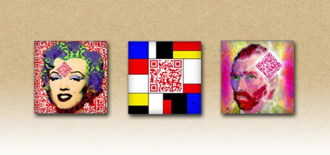 QR codes embedded into art on ceramic tiles | artcode | Scoop.it