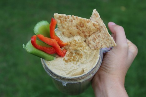Student cooking: quick and easy tahini hummus | My Vegan recipes | Scoop.it
