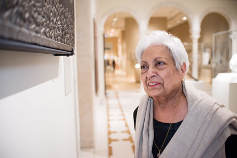 Zarina Hashmi on Arabic calligraphy | The Artist Project Season 1 | The Metropolitan Museum of Art | Clic France | Scoop.it