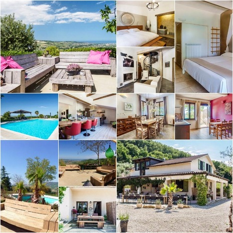 Best Le Marche Properties for Sale: Farmhouse Santa Lucia, Montefiore dell'Aso | Le Marche Properties and Accommodation | Scoop.it