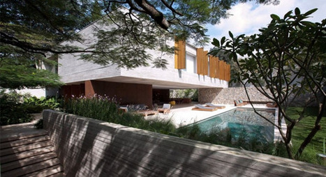 Ipês House par StudioMK27 | Journal du Design | Architecture et nature | Scoop.it
