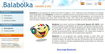 Text to Speach : Balabolka | Blog de Grupo U | Aplicaciones y Herramientas . Software de Diseño | Scoop.it