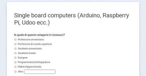 Single board computers (Arduino, Raspberry Pi, Udoo ecc.) | Raspberry Pi | Scoop.it