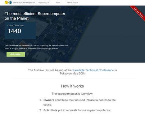 Supercomputer.io ¿Quieres contribuir con la súper computadora virtual, más eficiente del mundo? | GeeksRoom | Educacion, ecologia y TIC | Scoop.it