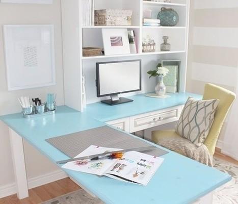 Biurko do pracy | Wnętrza inspiracje | Home Design | Scoop.it