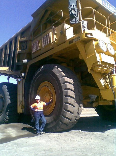 Chloe - Haul Truck Operato | OHS Quest Two and Three- OHS in the Workplace with my Friends and Family, focusing on Mick a multi skilled operator | Scoop.it