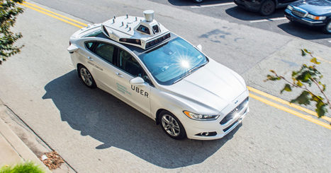 We Take a Ride in the Self-Driving Uber Now Roaming Pittsburgh | Location Is Everywhere | Scoop.it
