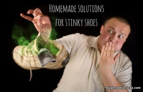 Solutions for Stinky Feet and Shoes! - 19 August 2016 - Blog - Tough Cookie | House cleaning | Scoop.it