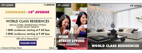 Lodha Codename: 18th Avenue by Lodha brings to you High Street Living at Palava, Mumbai's sister city. | Rea Estate | Scoop.it