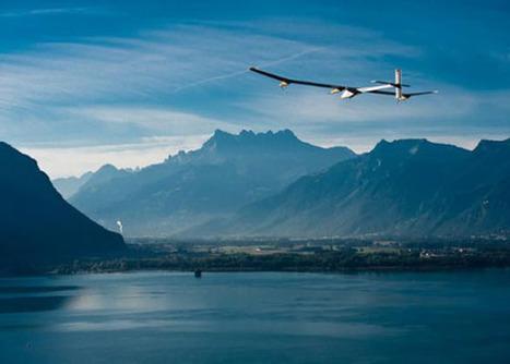 Los pilotos del avión #solar esperan lograr cambios sobre la energía #renovable | MOVUS | Scoop.it