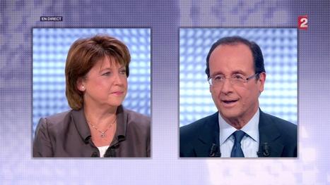 1 - François Hollande et Martine Aubry. Deux regards sur l'Europe | Union Européenne, une construction dans la tourmente | Scoop.it