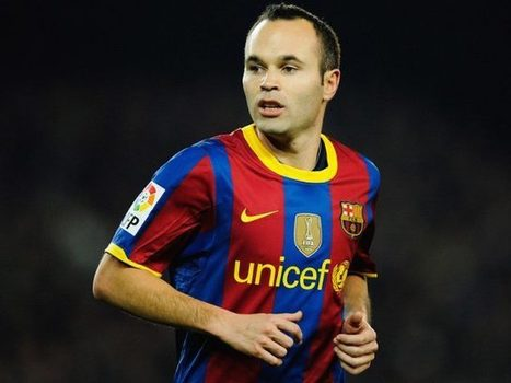 Barcelona's Andres Iniesta brings his wines to the UK | Vitabella Wine Daily Gossip | Scoop.it