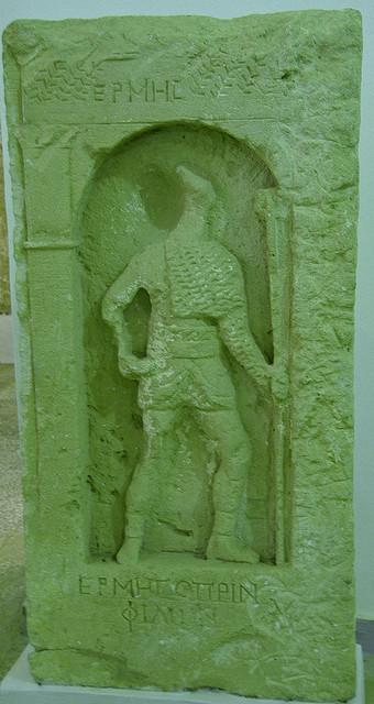 Tomba del gladiador Hermes, Ptolemaida, Líbia | GLADIADORES Y GLADIATRICES DE LA ANTIGUA ROMA | Scoop.it