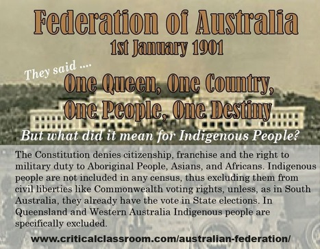 Australian Federation | History Resources and Ideas for Teaching | Scoop.it
