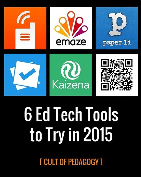 6 Ed Tech Tools to Try in 2015 | On education | Scoop.it