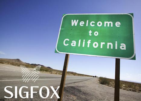 SigFox installera son réseau dans la Silicon Valley | IOT Valley | Scoop.it