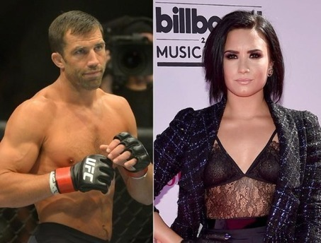 Whaaat? Demi Lovato Is Reportedly Dating The UFC's Former Middleweight Champ Luke Rockhold…Details Inside! | T.V.S.T. | Celebrity Gossip | Scoop.it
