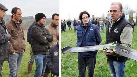 Le drone, un nouvel allié pour les agriculteurs | Agriculture, horticulture, pêche, sylviculture, viticulture, travailler avec les animaux | Scoop.it