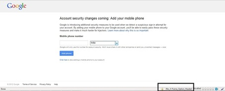 Garage4hackers Forum - Google Account Password Reset Vulnerability using Mobile Sec Token [ClickJacking] | Garage4Hackers June Magazine | Scoop.it