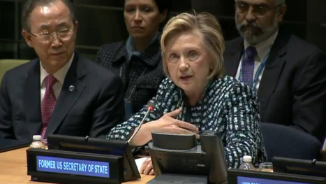 End to early and forced marriage needed to achieve gender equality – Hillary Clinton, International Women's Day 2014 - Girls Not Brides | Global Politics - Human Rights | Scoop.it