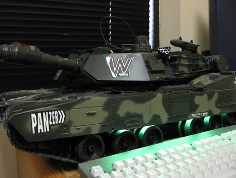 "The ""Army Tank PC"" by Skip Station 