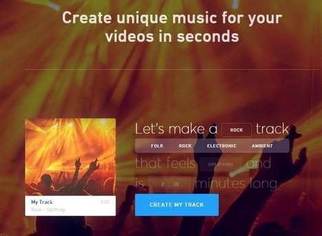 Tres sitios web para crear música de forma sencilla | Al sac! | Scoop.it