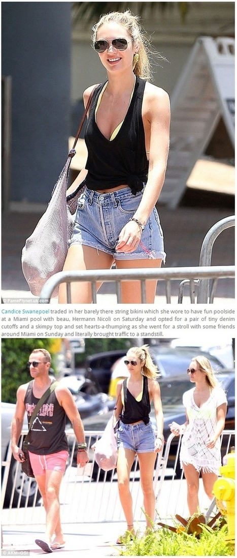 Primodels scam-Candice Swanepoel heats up Miami | Primodels Review | Scoop.it