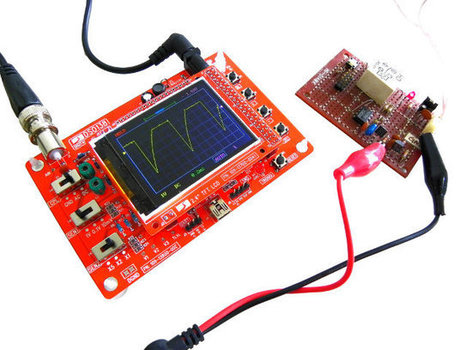 JYE Tech DSO138 is a $23 DIY Oscilloscope Kit | Embedded Systems News | Scoop.it